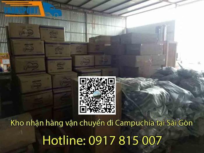 chành xe tải đi Campuchia tại Sài Gòn